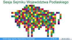 Miniaturka filmu: XXVIII Sesja Sejmiku Województwa Podlaskiego VI kadencji
